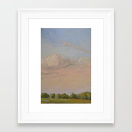 Sunset Painting Framed Art Print