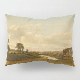 Lancaster New Hampshire Farmland 1867 By David Johnson | Reproduction | Romanticism Landscape Painte Pillow Sham