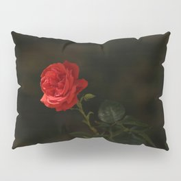 The wild red rose Pillow Sham