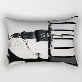 Marking The Artwork Rectangular Pillow
