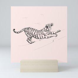 Tiger and Sun I. Mini Art Print