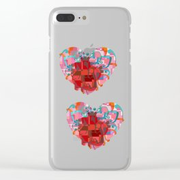 Heart of my Heart Clear iPhone Case