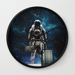 Space Traveller Wall Clock