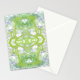 279 = Abstract Tree design Stationery Cards