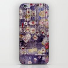 Girl with a red umbrella iPhone & iPod Skin