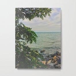 Romantic lookout Metal Print