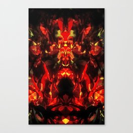 Flower Shaman Canvas Print