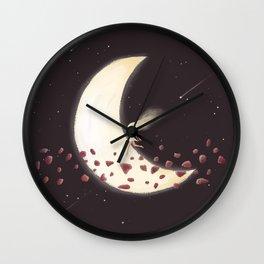 Lunar Child Wall Clock