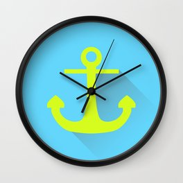 Drop The Anchor Wall Clock