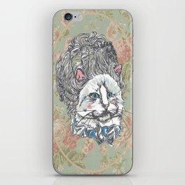 Meowrie Antoinette iPhone Skin