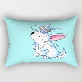 Budgie Buddy Rectangular Pillow