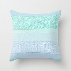 Polkadot Madness Throw Pillow