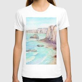 Cliffs at Normandie WC160404c-11 T-shirt