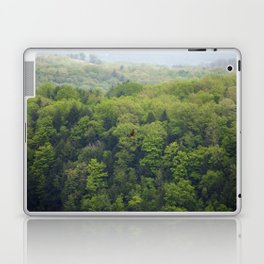 Flying Above the Tree Tops - Spring Trees  Laptop & iPad Skin