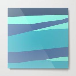 Wave Lengths Metal Print