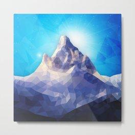 Space Mountain II Metal Print