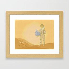 Modern Prospector Framed Art Print