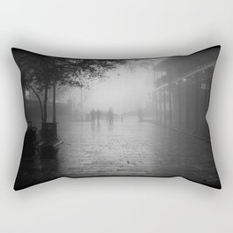 New Orleans on a foggy day Rectangular Pillow