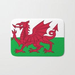 Flag of Wales Bath Mat
