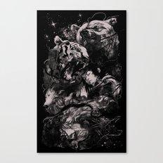 Sleep with Gods Canvas Print