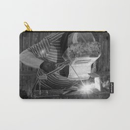 Welder working Carry-All Pouch