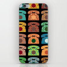 iRetro (boys) / black iPhone Skin