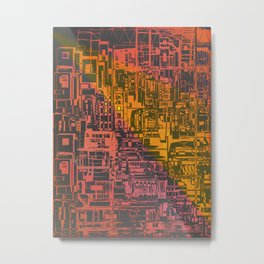 Where Are YOU / Density Series Metal Print