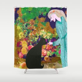 Treats for the Sweet Shower Curtain