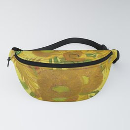 Van Gogh Sunflowers Fanny Pack