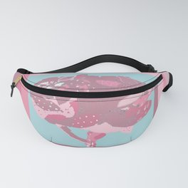 Fluffy pink tree of cuteness Fanny Pack