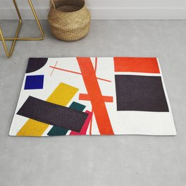 Kazimir Malevich - Suprematism: Abstract Composition (new editing) Rug