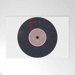 Vinyl Record Star Sign Art   Capricorn Welcome Mat