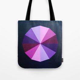 Purple dodecagon Tote Bag