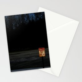 The Ice Be Thin Stationery Cards