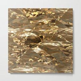 Gold Metal Metal Print