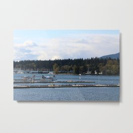 Vancouver Harbour Metal Print