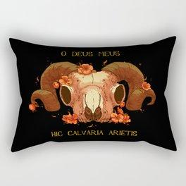 Hic Calvaria Arietis Rectangular Pillow
