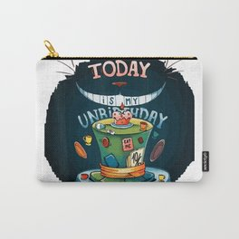 Today is My Unbirthday funny cat lover gift idea T-Shirt Carry-All Pouch