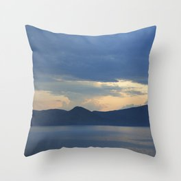 Lake 2 Throw Pillow