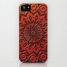 okshirahm woodcut Slim Case iPhone (5, 5s)