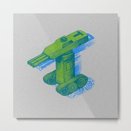 Tank T Metal Print