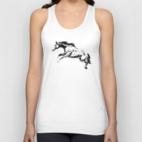horse Tank Tops featuring Horse by Anna Shell