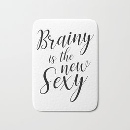 Brainy is the new sexy Bath Mat