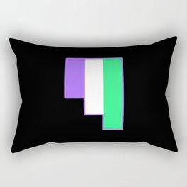 Genderqueer Rectangular Pillow