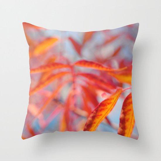 Autumnal Bliss... Throw Pillow