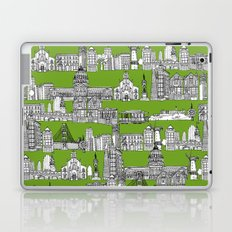 San Francisco green Laptop & iPad Skin