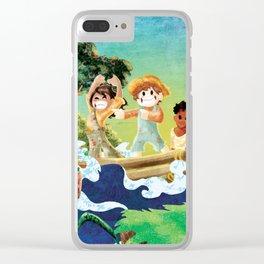 Tom Sawyer Clear iPhone Case