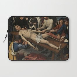The Judgment of Cambyses Laptop Sleeve