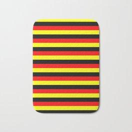 angola belgium uganda flag stripes Bath Mat