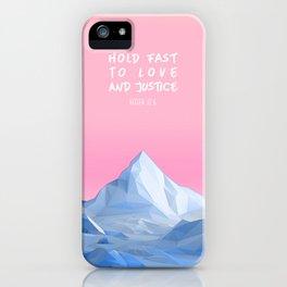 Hosea 12:6 iPhone Case